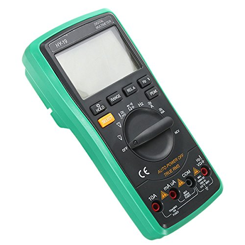 Price comparison product image NEW HY-19 Digital True RMS NCV Auto Range 5999 Counts Multimeter AC DC Voltage Current Frequency Resistance 6000UF Capacitance Diode Duty Cycle Tester