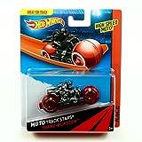 TRANZ-BLASTER Hot Wheels 2013 Moto Track Stars High Speed Motorcycle (BDN47)
