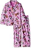 AME Sleepwear Girls' Big L.O.L. Surprise 2-Piece Pajama Coat Set, Lots of Laughs, 8