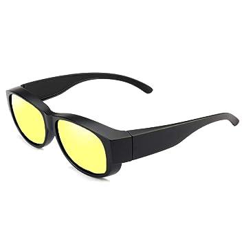 LKVNHP Nuevo Clip Gafas De Sol Polarizadas Hombres Mujeres ...