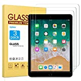 [3 Pack] Screen Protector for iPad 9.7 (2018 & 2017) iPad Pro 9.7 - apiker Tempered Glass Screen Protector Compatible with Apple Pencil