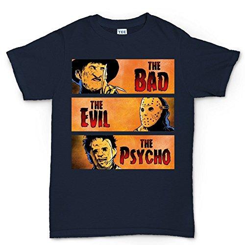 LesGo-Tshirt Bad Evil Psycho Party Costume T Shirt