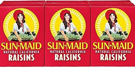 Every box of raisins...Custom Made 1.5 X 1.5 inch Magnet