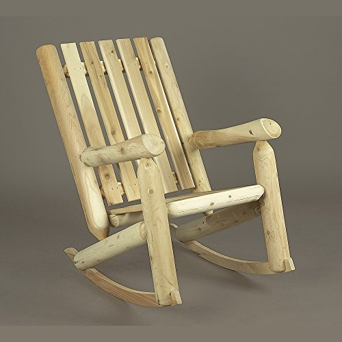 Cedarlooks 010005A High Back Rocking (Arbor Trellis Rustic Cedar Furniture)