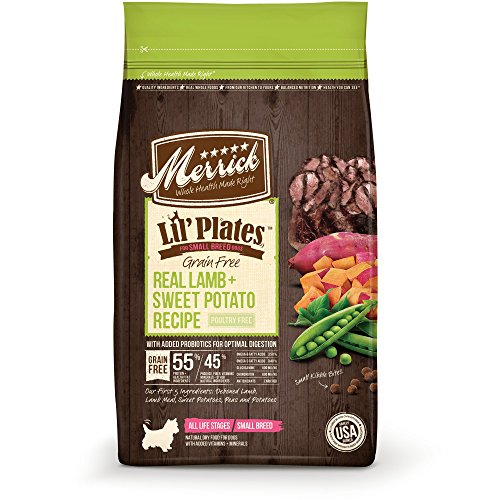 Merrick Lil' Plates Grain Free Real Lamb + Sweet Potato Small...
