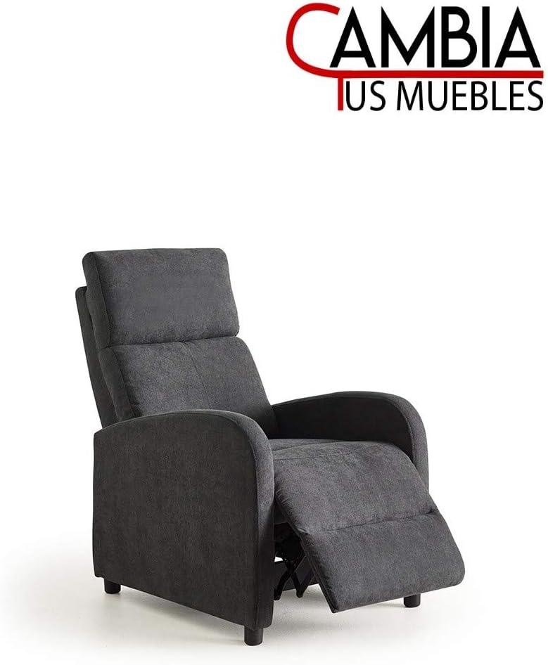 Nexus butaca Relax, sillón reclinable Manual Gris