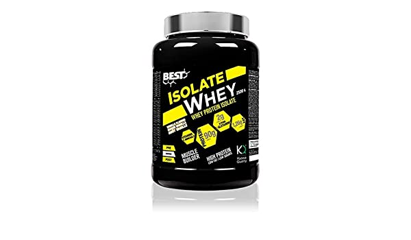 Best Protein - Isolate Whey CFM - 2500g - Vainilla: Amazon.es: Deportes y aire libre
