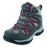 Best Northside Waterproof Shoes - Northside Unisex-Kids Freemont Waterproof Hiking Boot, Dark Gray/Red Review