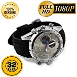 Pansim 32Gb Hd Night Vision Spy Wrist Watch Camera