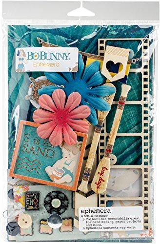 Bo Bunny 21633114 Down by The Sea Ephemera Embellishments