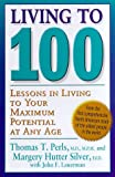 img - for Living to be One Hundred by Thomas T. Perls (1999-06-11) book / textbook / text book