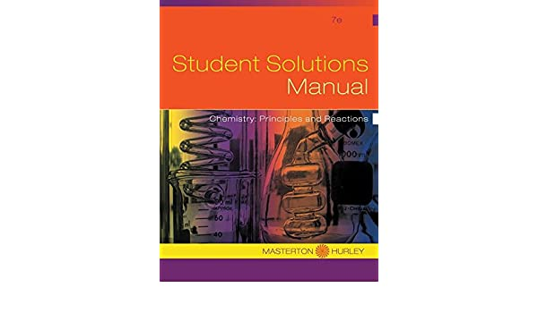 Chemistry principles and reactions student solutions manual 7th chemistry principles and reactions student solutions manual 7th edition hurley masterson 9781133228141 amazon books fandeluxe Gallery