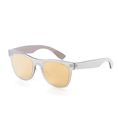 82cfd126a7 Image Unavailable. Image not available for. Color  Retrosuperfuture  Tuttolente Duo Lens Classic (R)Gold Silver Sunglasses ...