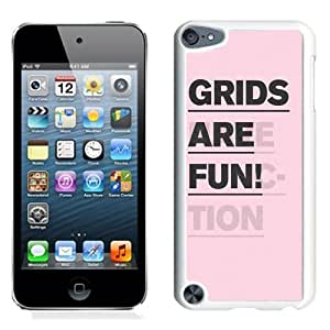 Grids Are Fun (2) Durable High Quality iPod 5 Phone Case