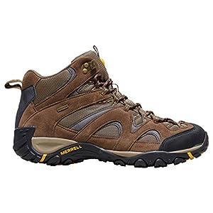 Merrell Men's Energis Mid Walking Boot, Brown, US7.5