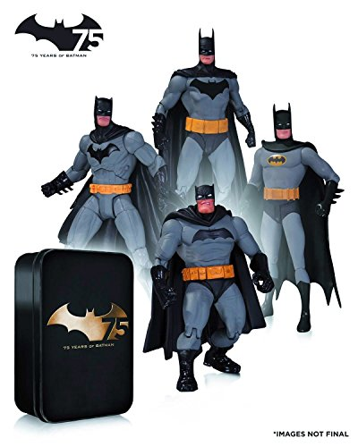 Batman / 75th Anniversary Action Figure 4PK set 2