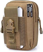 Tactical Military MOLLE, Holster Bag, Holder Bag, Outdoor Tactical Holster Molle Hip Waist Belt Bag, Wallet Po