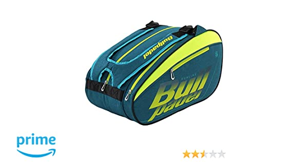 Bullpadel Paletero BPP19004 Fun 2019 Verde, Adultos Unisex, Multicolor, Talla Unica