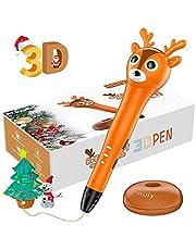 Nulaxy Reno Pluma 3D, 3D Pen Inteligente con Mensaje de Voz, Regalos de Navidad y Cumpleaños para Niños