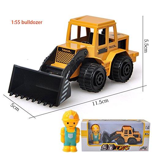 Ocamo Juguetes Modelo 1:64 DE Coches de Ingeniería de Aleación de vehículo como Regalo para Niños