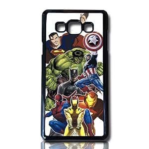 carcasa funda para movil compatible con samsung galaxy a7 marvel superheroes dibujo