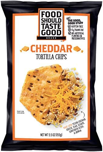 Food Should Taste Good Cheddar