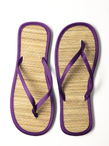 Dessy Kvinna Trimmade Flip Flops I Hertiginna Afrikansk Violet