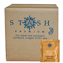 Stash Tea Cinnamon Vanilla Herbal Tea Bags, 100-Count Box