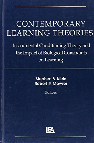 Contemporary Learning Theories: Volume II: Instrumental Conditioning Theory and the Impact of Biological Constraints on