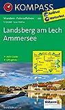 Landsberg am Lech - Ammersee: Wanderkarte mit Aktiv Guide und Radwegen. GPS-genau. 1:50000 (KOMPASS-Wanderkarten, Band 189)