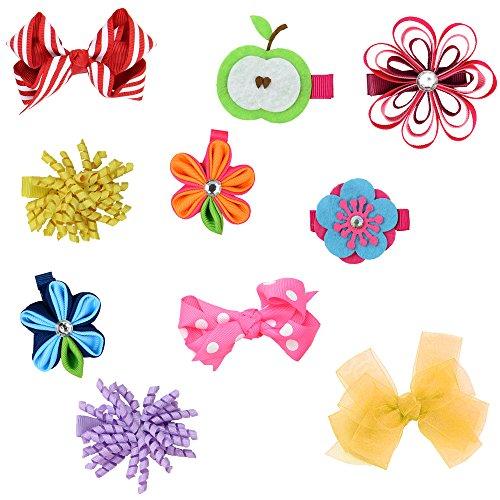 juDanzy Toddler Ribbon Variety Barettes product image