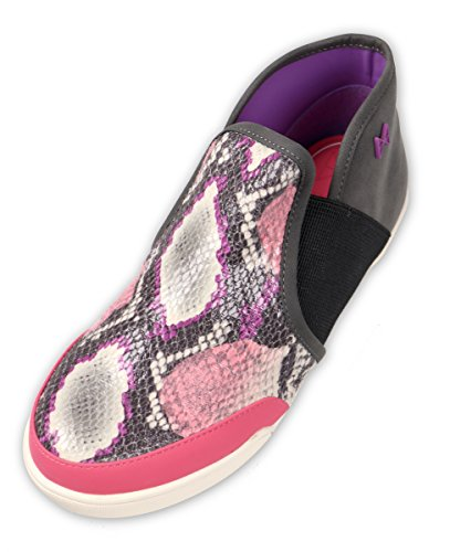 Butterfly Twists Zapatillas de Material Sintético Para Mujer Hot Pink Snake