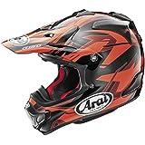 Arai VX-Pro 4 Dazzle Red Motocross Helmet - Medium