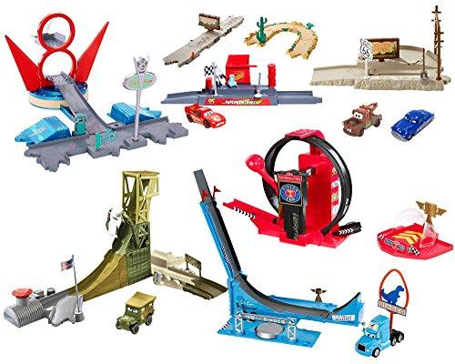 Disney/Pixar Cars Radiator Springs Classic Story Sets World (Flos Cars V8 Cafe Pixar)