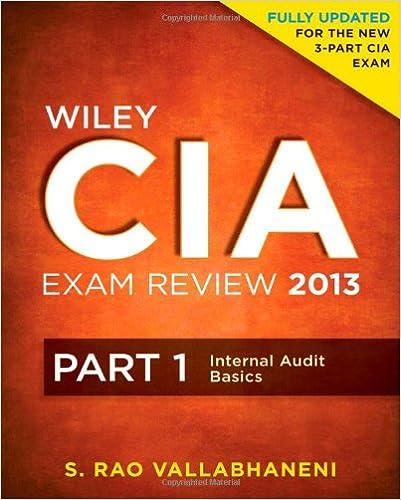 Certified Internal Auditor Book