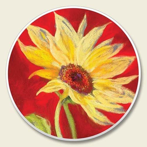 Sunflower Auto Coaster Single Your product image