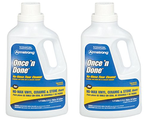 Armstrong 330806 Armstrong Once 'N Done Cleaner Concentrate, 1/2 Gallon (64OZ) - 2 (Armstrong Cleaner)