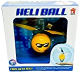 Heli Ball Flying Helicopter Balls - Ninja, Skeleton or Emoji Face - Hovers 15 ft with Palm (Choose Your Favorite) (Cool Sunglasses)