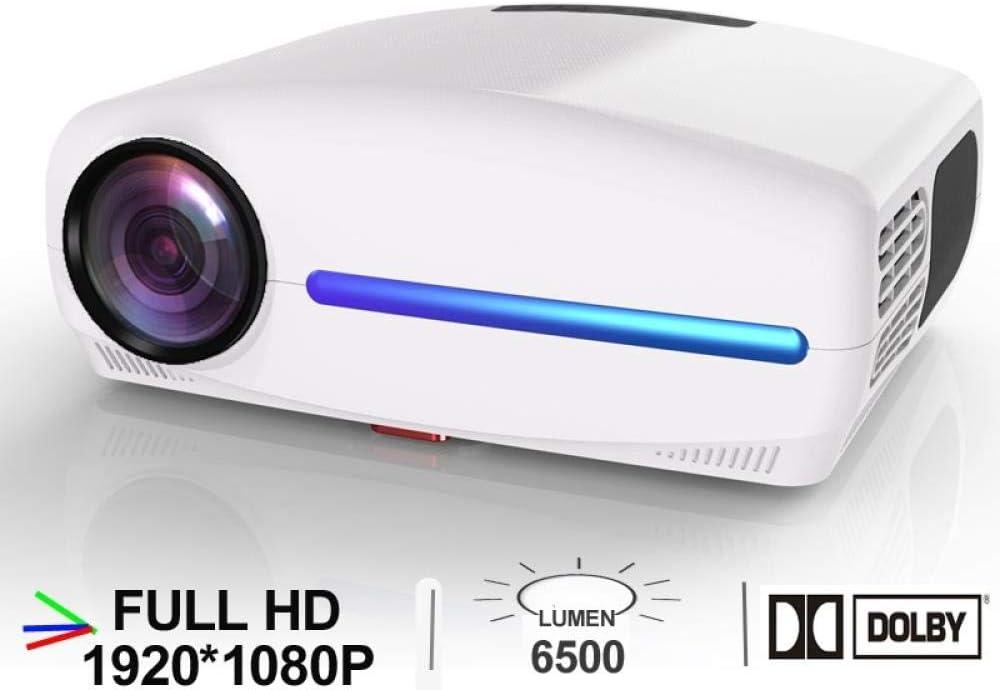 WXCZ Proyector Led Full HD 1920 * 1080P con 4D Keystone Digital ...