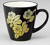 KUTANI YAKI(ware) Coffee Mug Silver Leaf