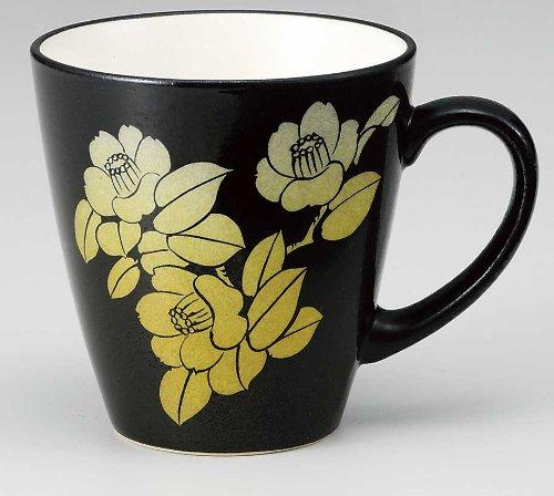 KUTANI YAKI(ware) Coffee Mug Silver Leaf by Kutani (Image #1)