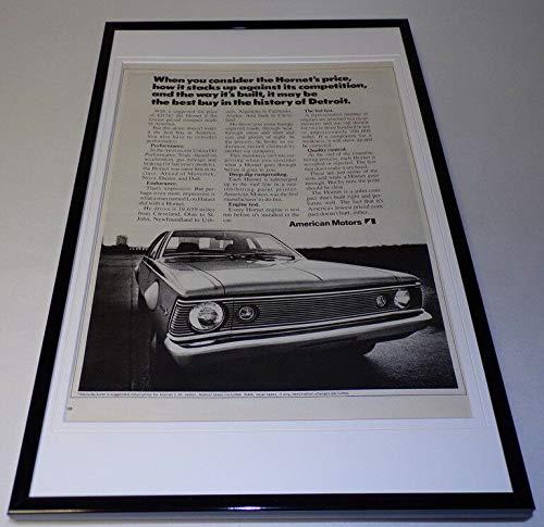1971 American Motors Hornet Framed 11x17 ORIGINAL Vintage Advertising Poster