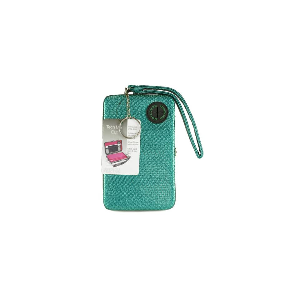 Kenneth Cole Reaction Womens Hard Iphone/smart Phone Wristlet Wallet/clutch Style 104981/809 (Bondi Blue) Clothing