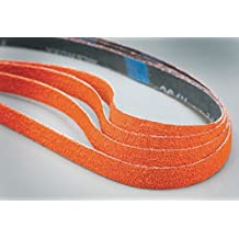 "Sanding Belt, 18"" Length, 1x2f;2"" Width, Ceramic, 80 Grit, Medium, Coated, R980P - 1 Each"