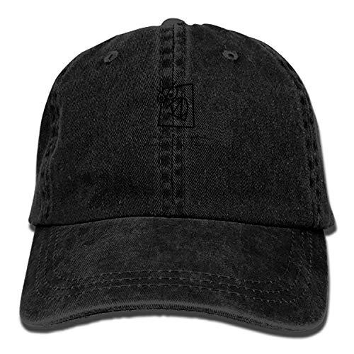 Men & Women Cotton Adjustable Cowboy Hat - I Also Gamble Like A Degenerate