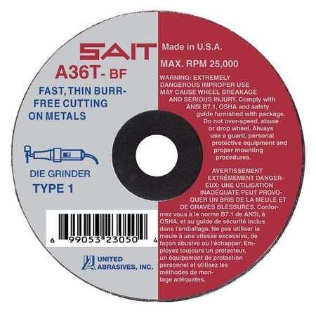 Cutoff Wheel 30558rpm 2x.035x1//4 A36T 100 Pieces