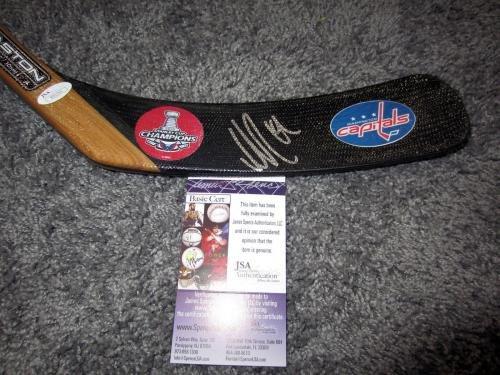 Nicklas Backstrom Autographed Stick w COA JSA Certified Autographed NHL Sticks
