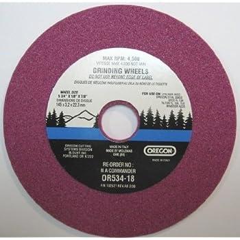 Amazon Com Oregon Or534 18a Grinding Wheel 1 8 Inch