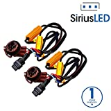 SiriusLED 3157 4157 3057 50W 6 Ohm LED Lights Load Resistor Adapter Fix Hyper Flashing Rapid Blinking Canbus Error Code Eliminator Warning Canceller for Turn Signal Reverse Backup Daytime Running DRL