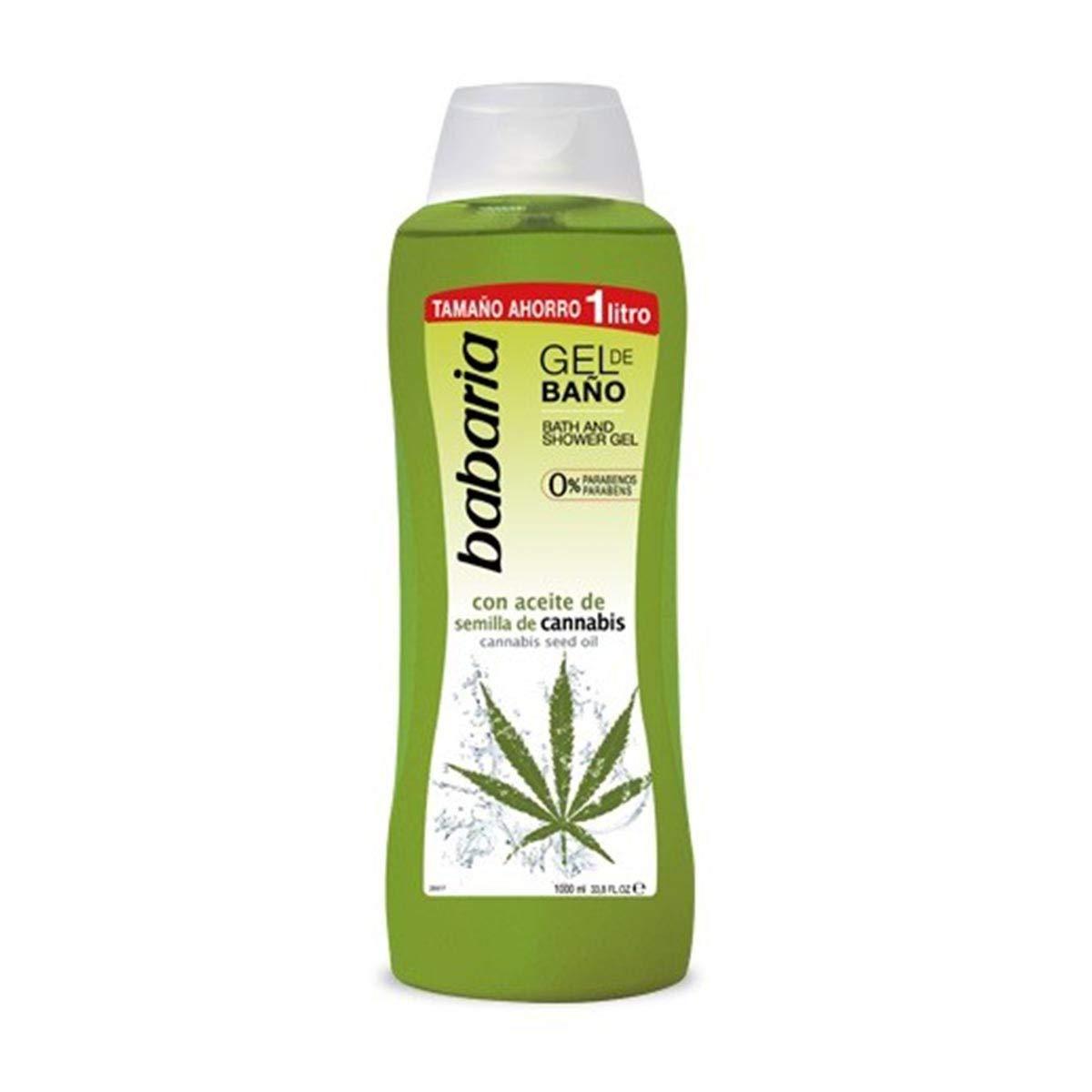 Babaria Gel De Ducha Babaria Gel 1000 mililitros.Aceite De Cannabis - 1000 ml